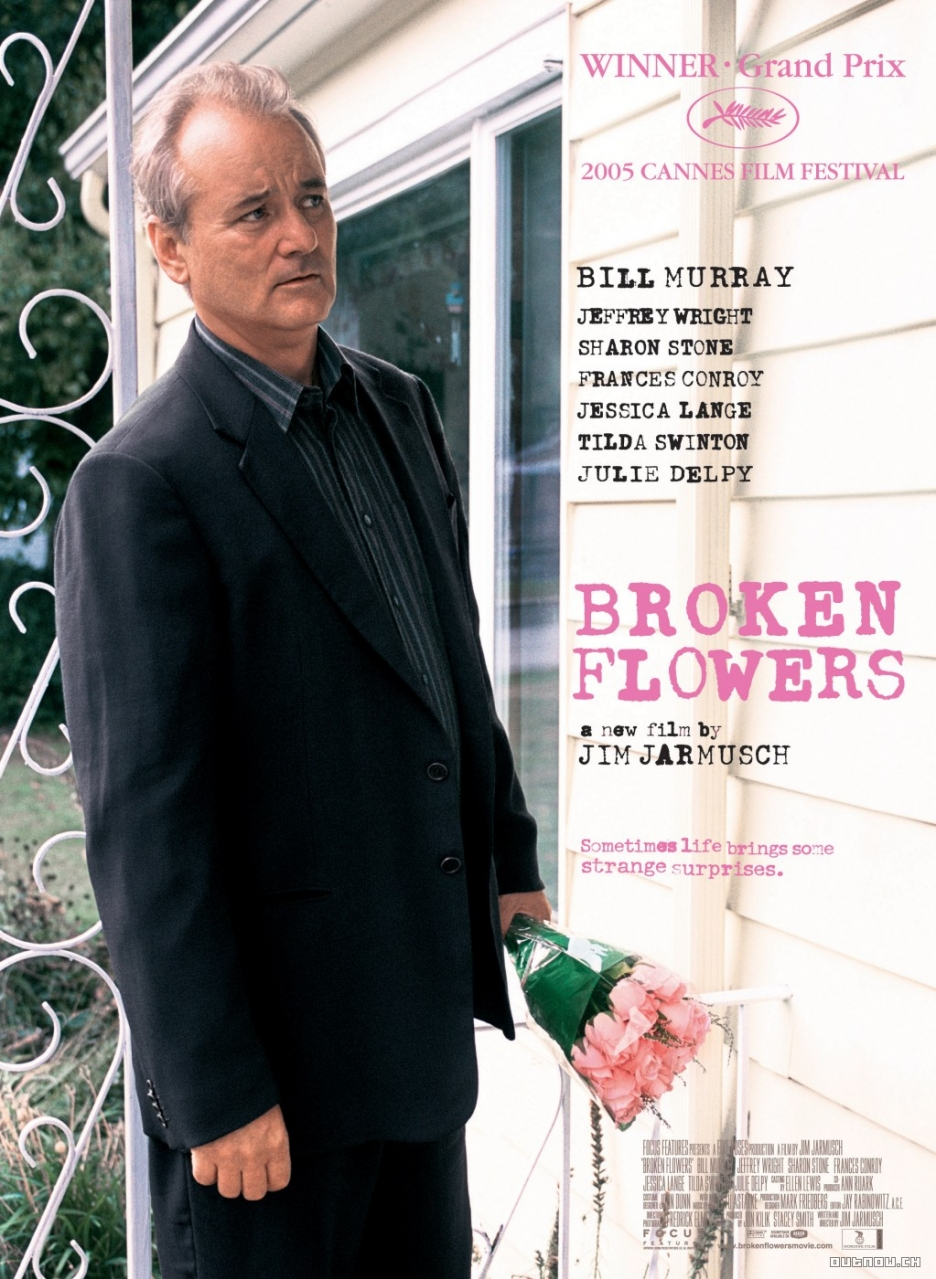 Zlomené květiny