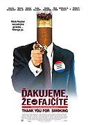 Poster k filmu        Ďakujeme, že fajčíte