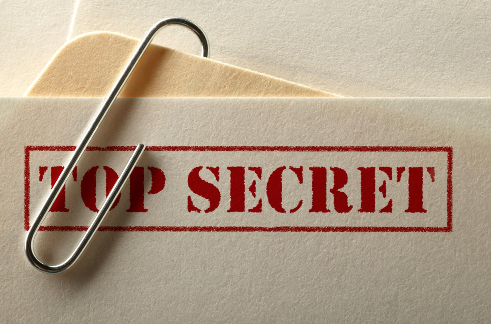 Top Secret Projekty
