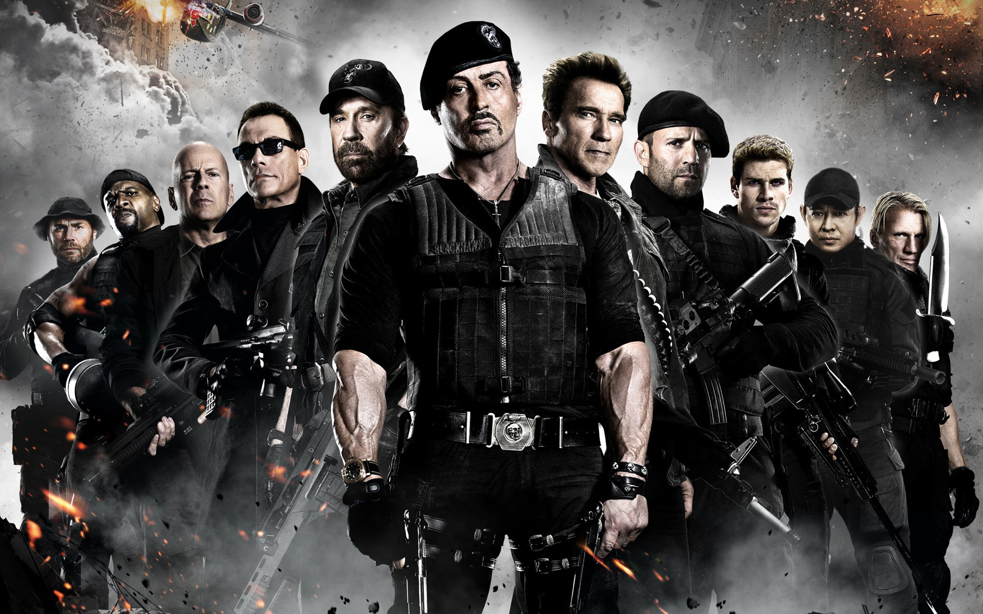 The Expendables Triology