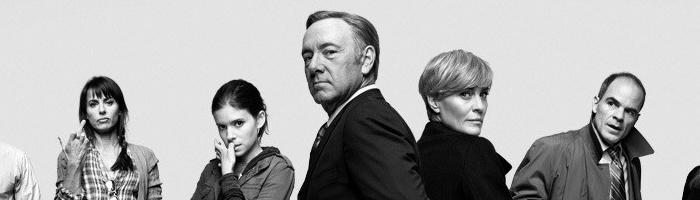 House of Cards (2013) - Nejlepší seriál z politického prostředí, který dokonale ukazuje rozpad morálních hodnot politika, jehož dokonale zahrál Spacey ve vrcholné formě!