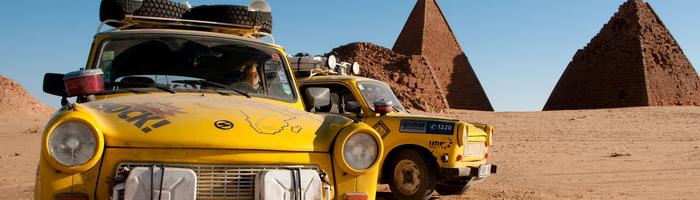 Trabantem napříč Afrikou (2010) - Velmi inspirativní a úchvatný, odvážný dokument, který rozhodně stojí za to vidět.