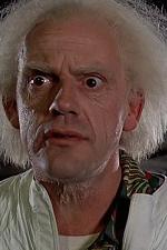 Emmet Brown (Back to the Future) - Komický šílenec, jehož charakter mu závidím.