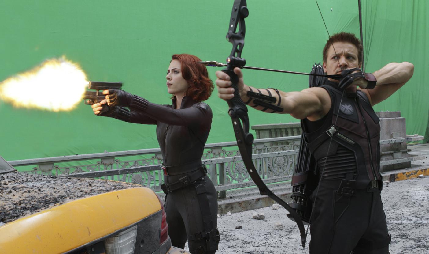 Hawkey & Black Widow