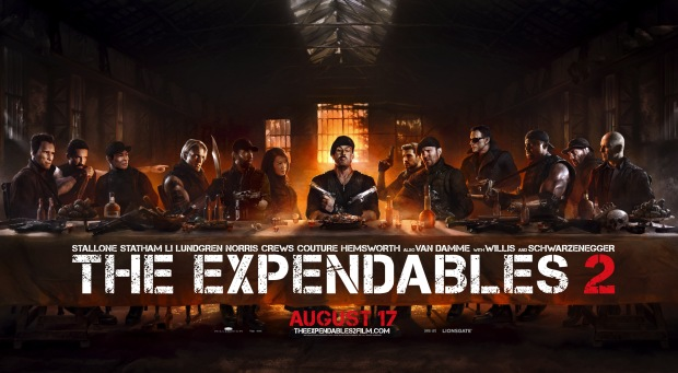 The Expendables 2 (Expendables: Postradatelní 2)