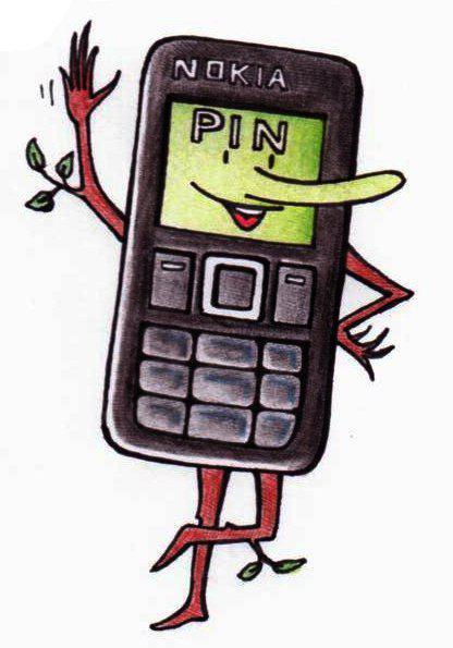 mobilní já (vytočila - ehm, tedy nakreslila mě madluska)