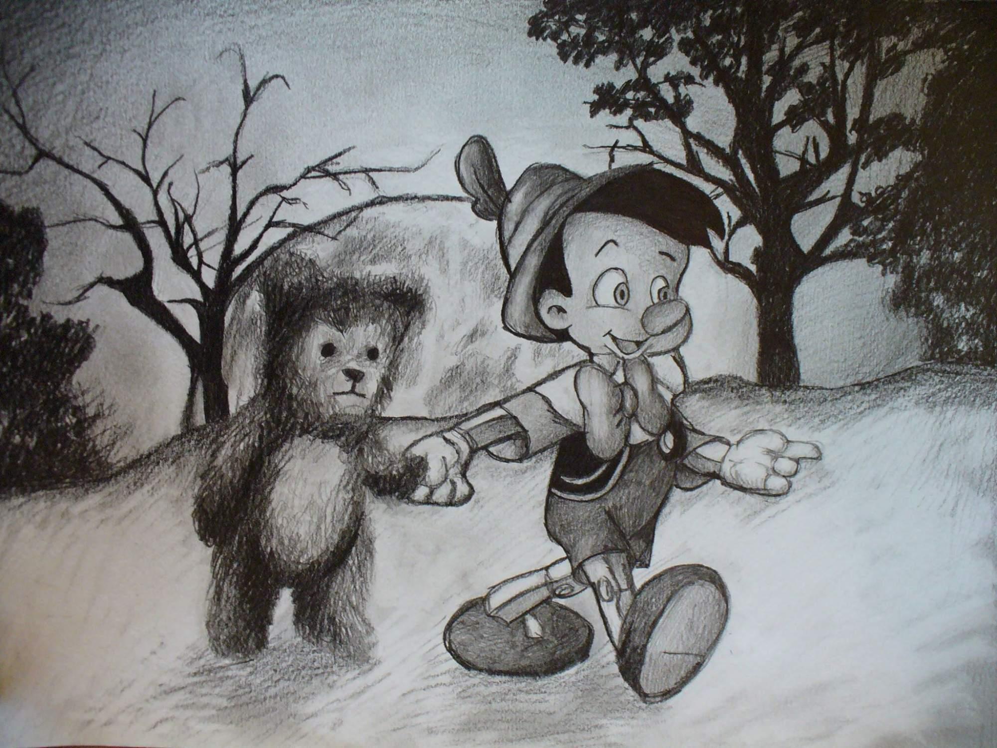 já .. a Teddy (děkuju za nevybarvení Morlok : )