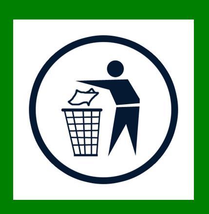odpad patri do koša a nie do prírody!