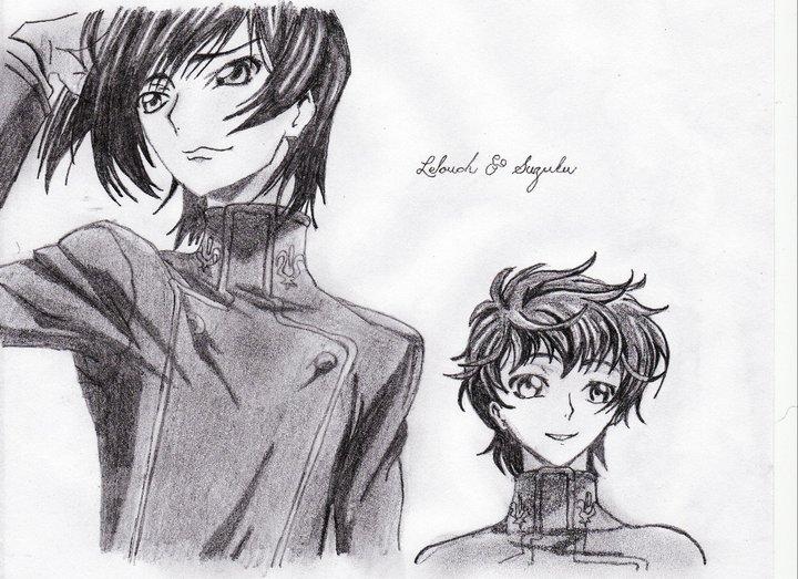 Lelouch a Suzaku