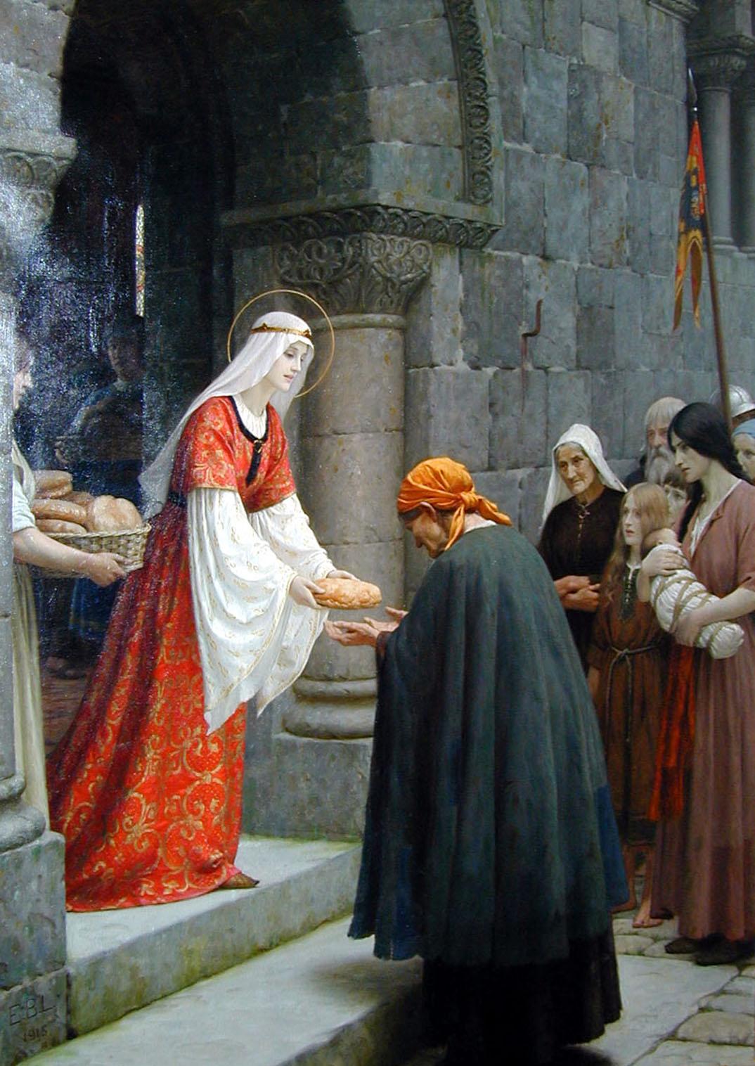 svätá Alžbeta Uhorská - patrónka mesta Košice