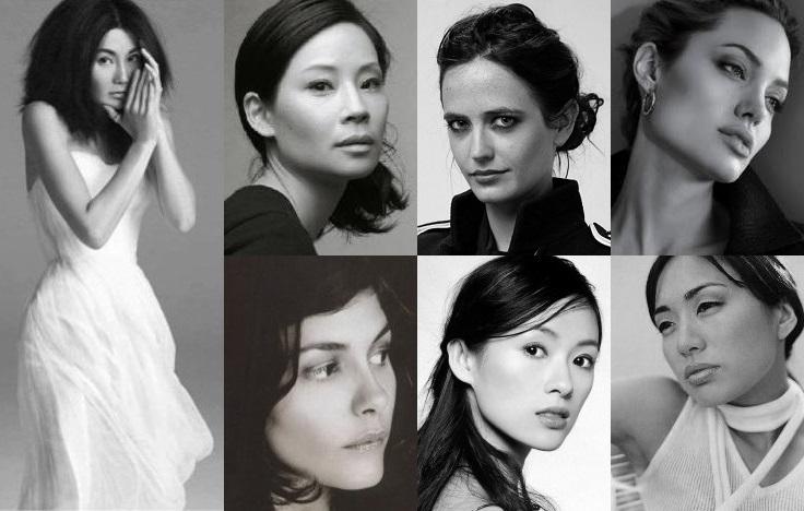Maggie Cheung - Lucy Liu - Eva Green - Angelina Jolie - Audrey Tautou - Zhang Ziyi - Marie Matiko