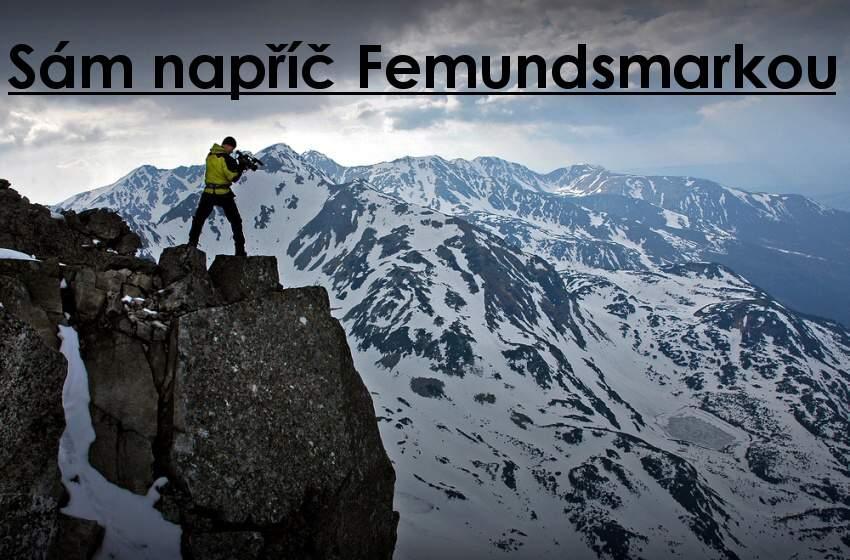 Sám napříč Femundsmarkou