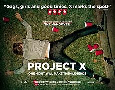 Poster k filmu        Project X
