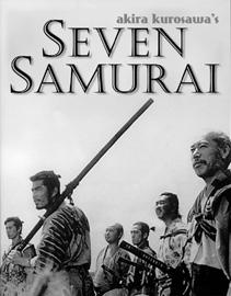 Sedem samurajov / 1954