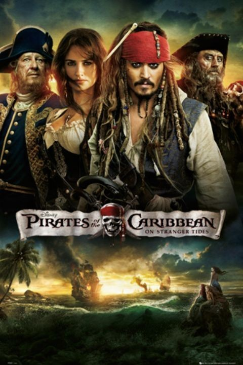 Piráti z Karibiku 1-4