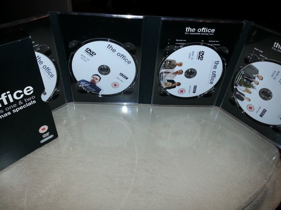 The Office - Complete Series One & Two and The Christmas Specials