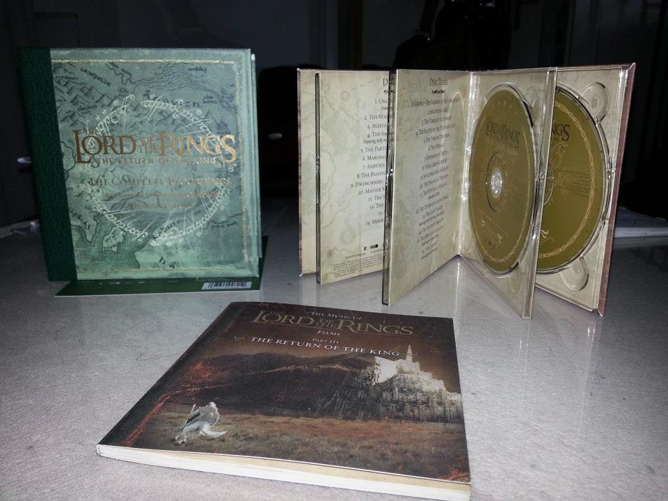 The Lord of the Rings: The Return of the King (The Complete Recordings) - hudobná vzácnosť