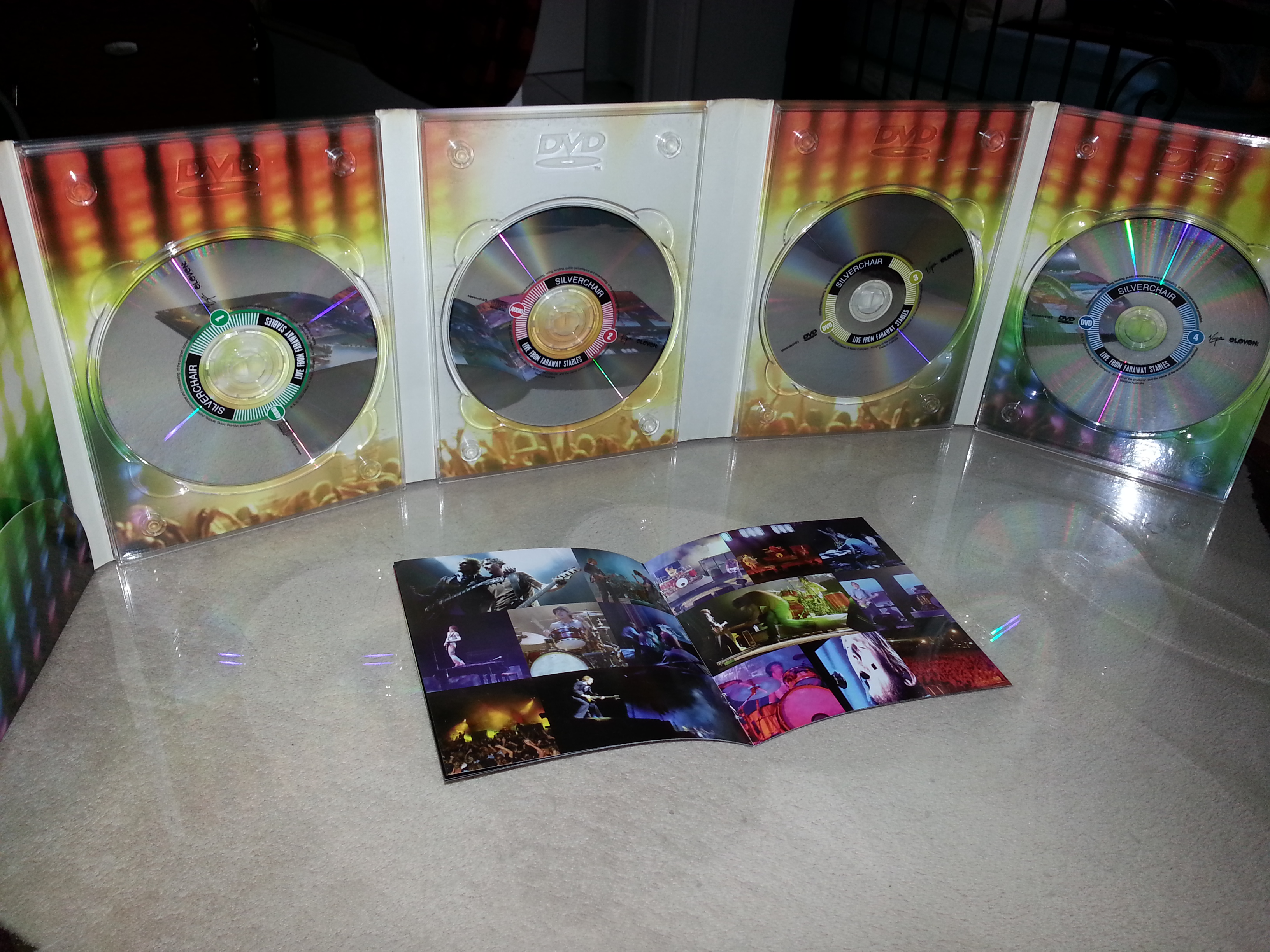 Silverchair Live from Faraway Stables [2CD/2DVD]