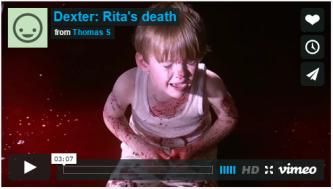 Dexter: Rita's death