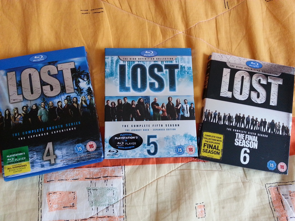 LOST s.4,5,6 Blu Ray