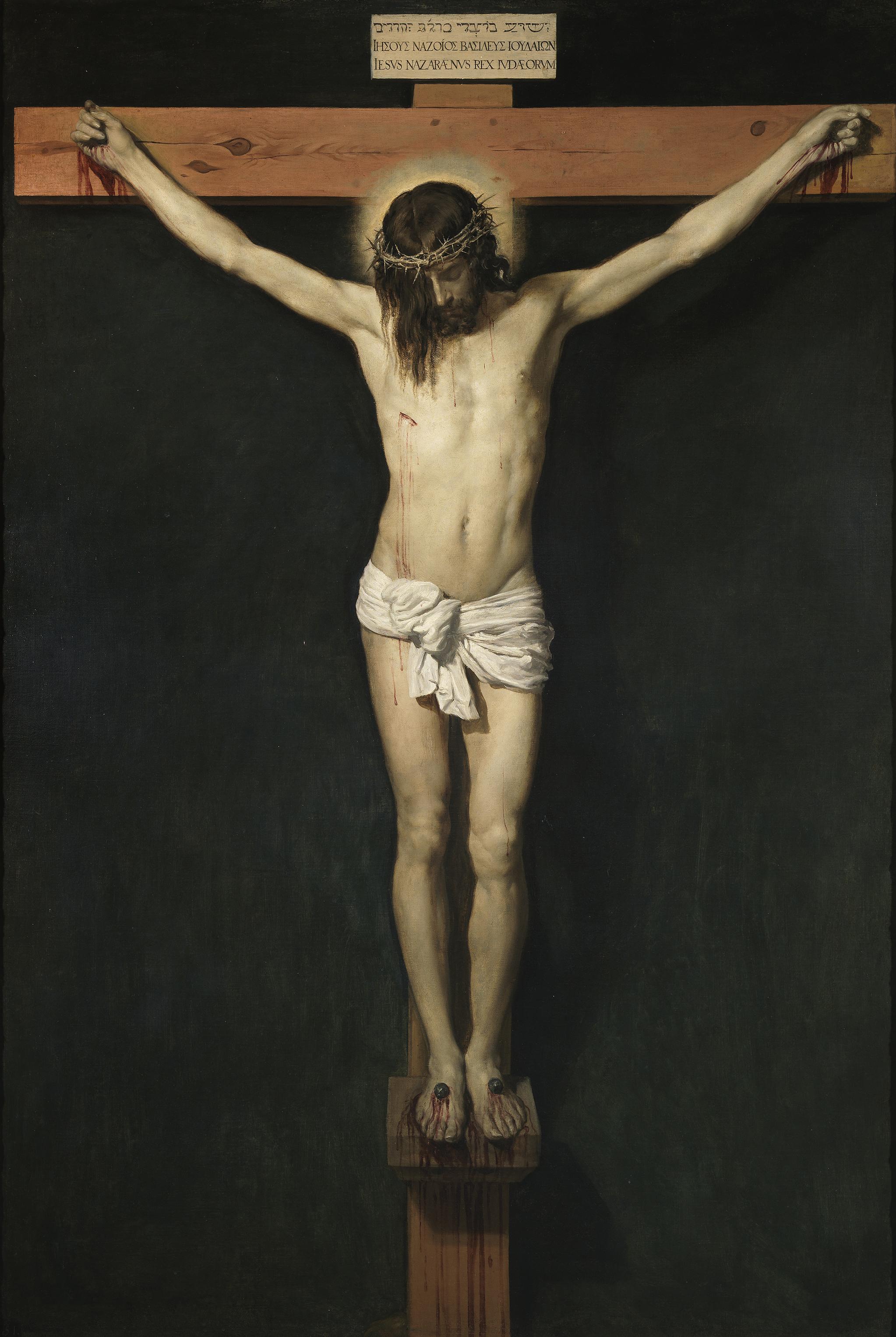 Diego Velázquez: Ukřižovaný Kristus (1632)