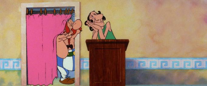Asterix a prekvapeni pro Cezara