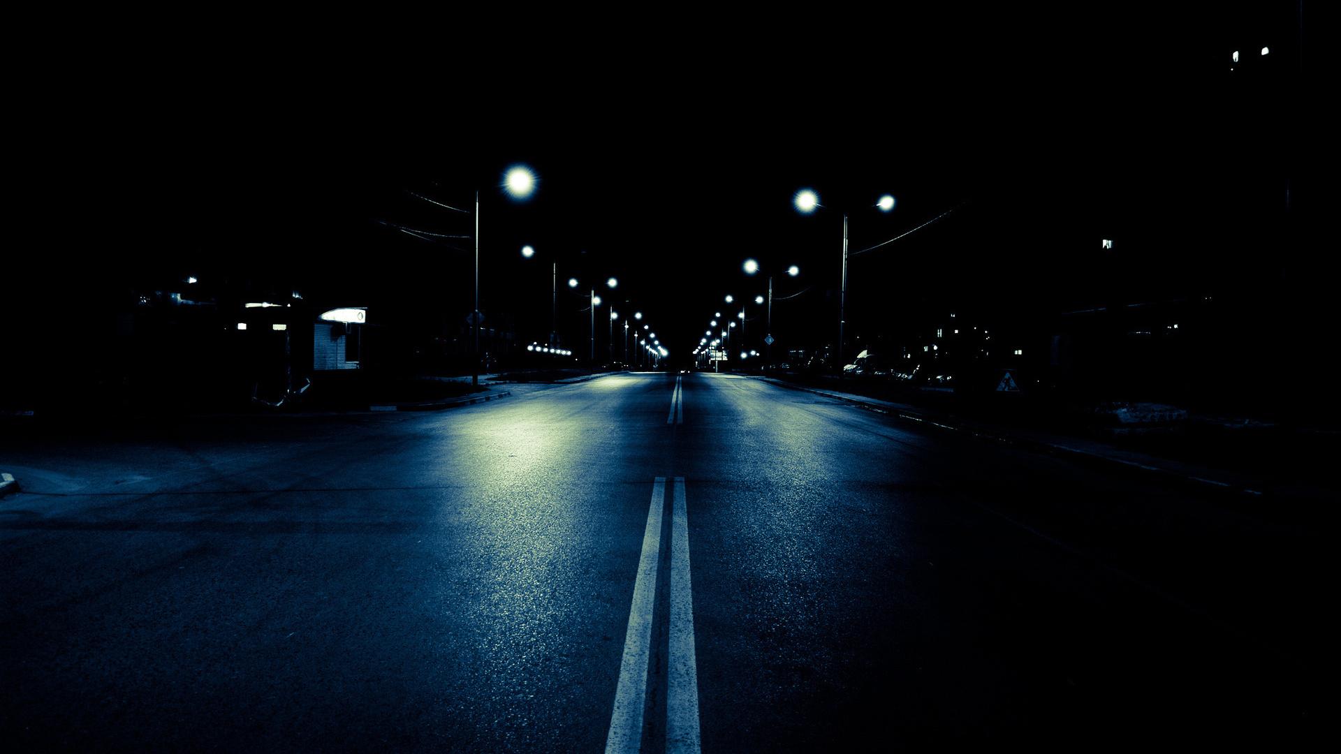kouzlo noci... ať už někde na samotě v přírodě či v ulicích města.
