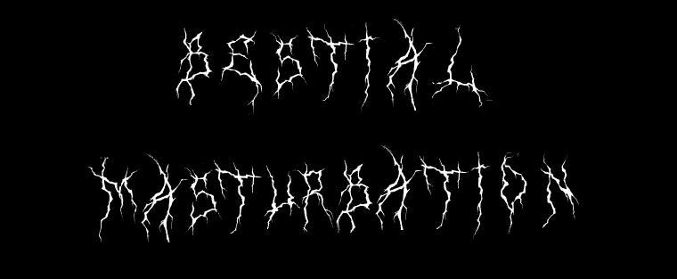 Bestial Masturbation