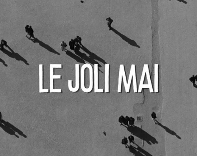 Chris Marker, Le joli mai, 1963