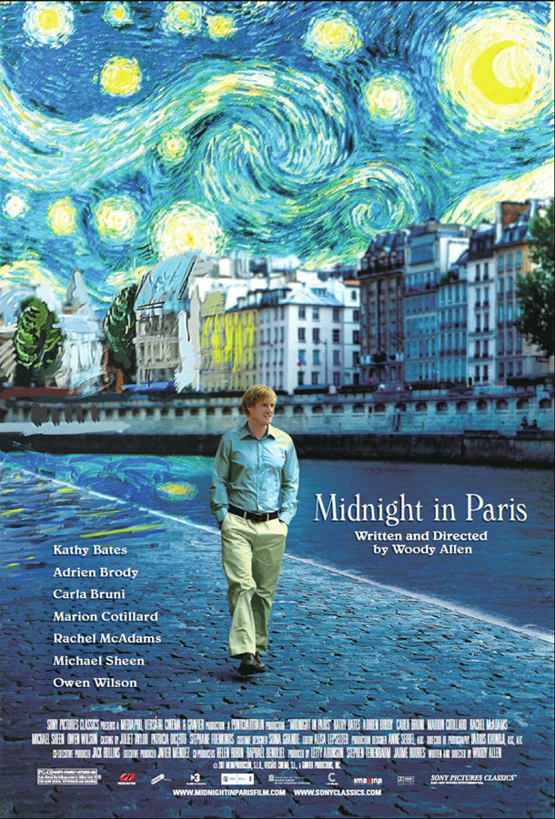 Půlnoc v Paříži