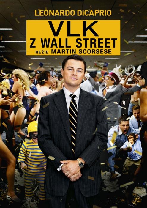 Vlk z Wall street(4. nejlepší film pro rok 2013) Tahounem je čekatel na oskara LDP