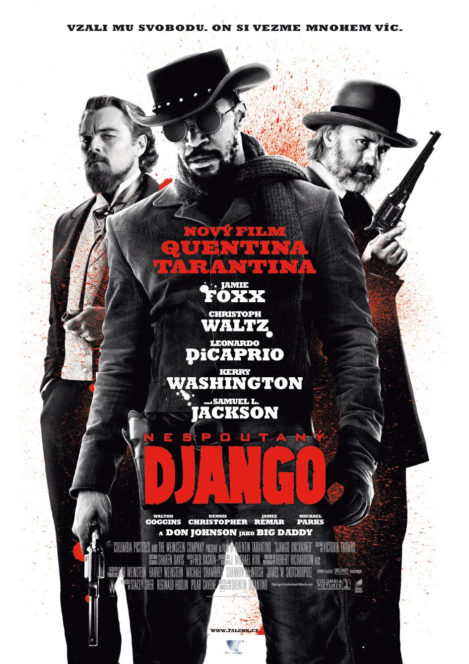 Nespoutaný Django:Tak co k tomu říct Tarantino, Washington,Caprio atd... to je jistota sama o sobě skvělé Drama(5.Místo)