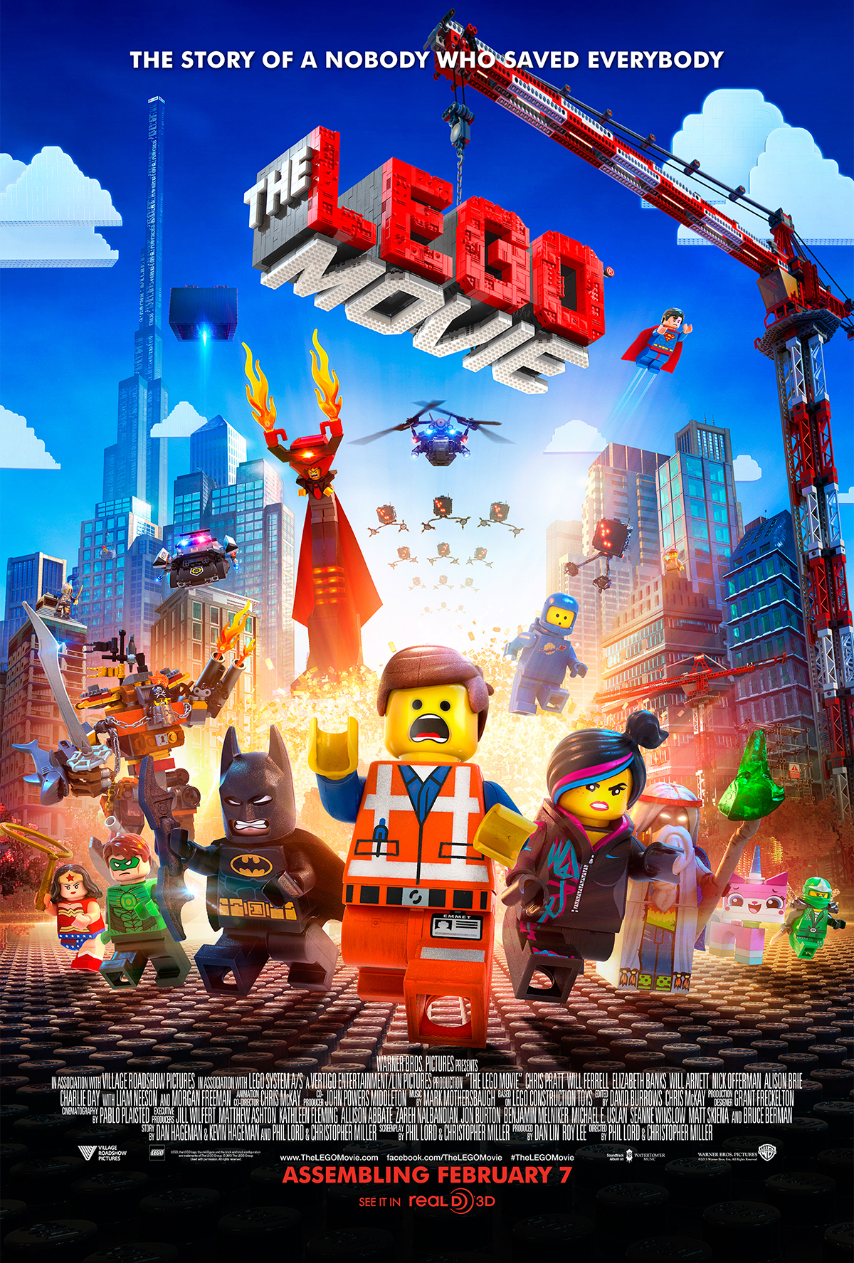 The Lego Movie by Phil Lord, Christopher Miller