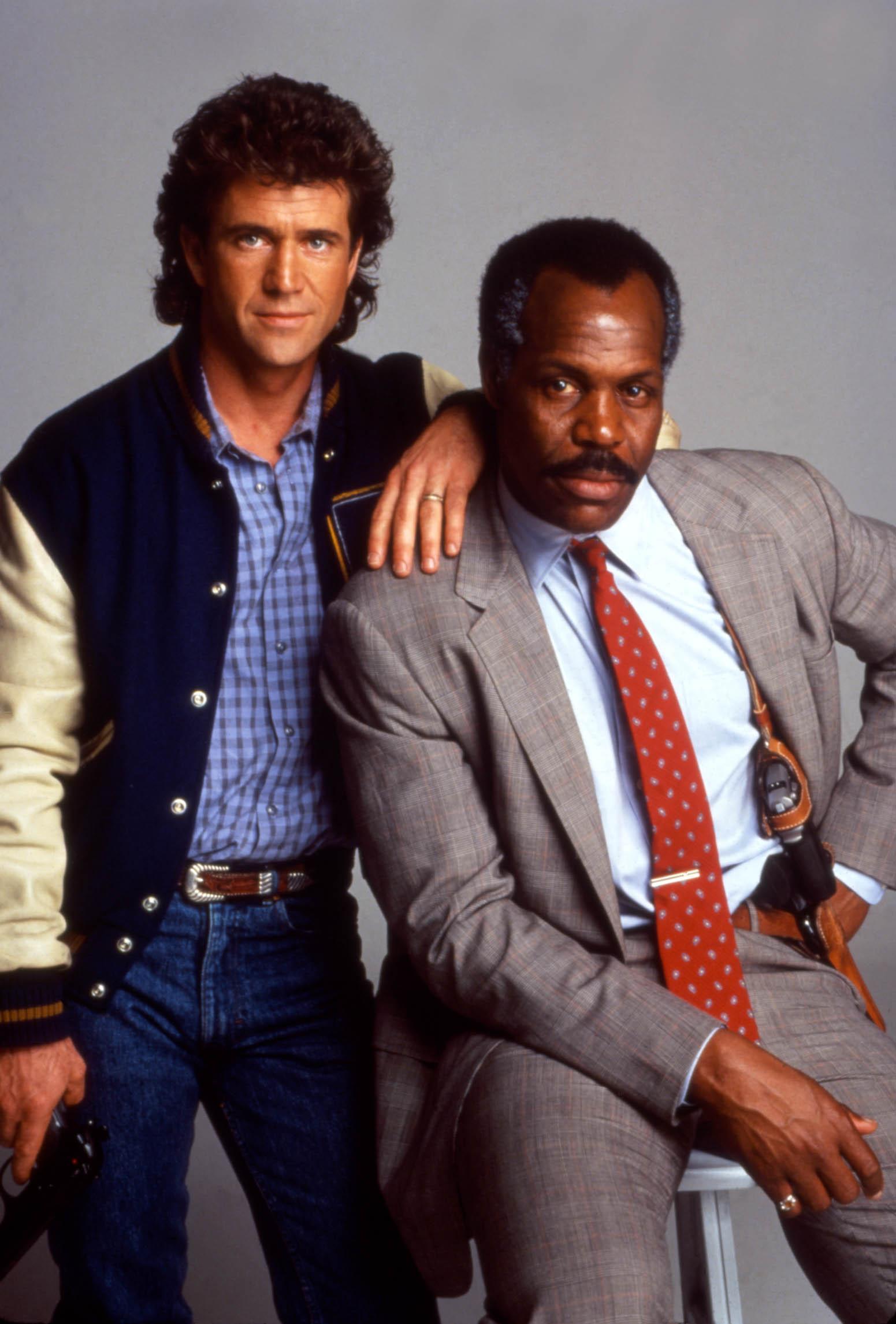 Martin Riggs/Roger Murtaugh - Mel Gibson/Danny Glover - Smrtonosná zbraň 1,2,3,4 (1987-1998)