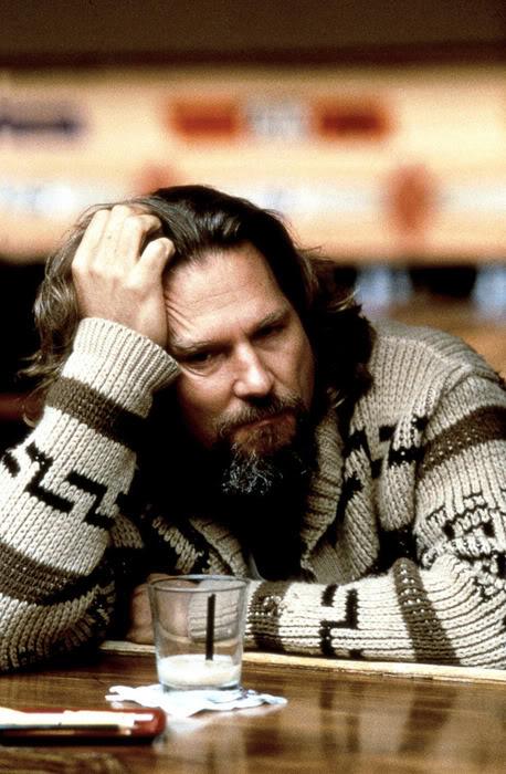 """Jeff """"Dude"""" Lebowski - Jeff Bridges - Big Lebowski (1998)"""