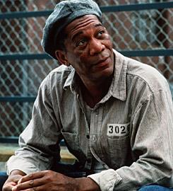 Ellis Boyd 'Red' Redding - Morgan Freeman - Vykúpenie z väznice Shawshank (1994)