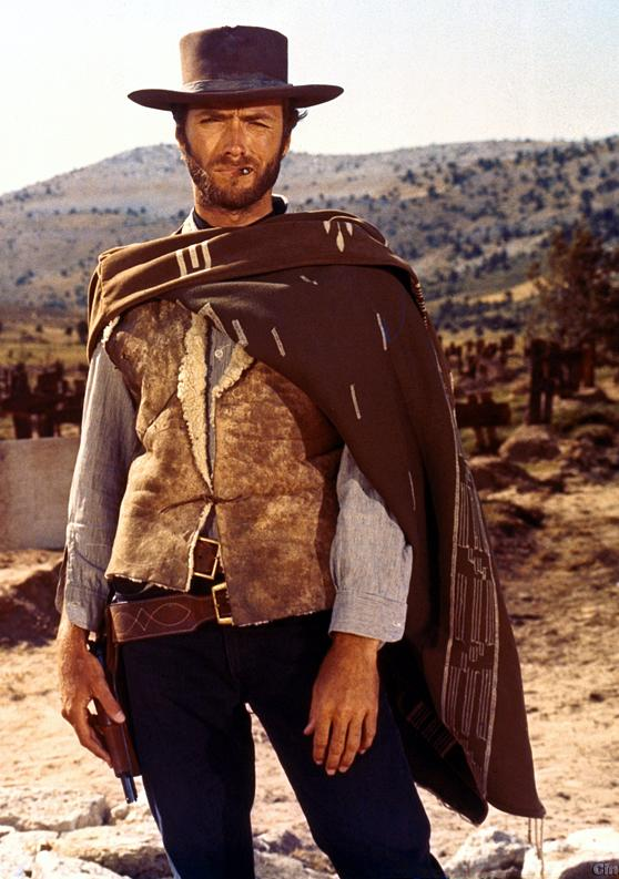 """""""The Man with no name"""" - Clint Eastwood - (1964-1966)"""