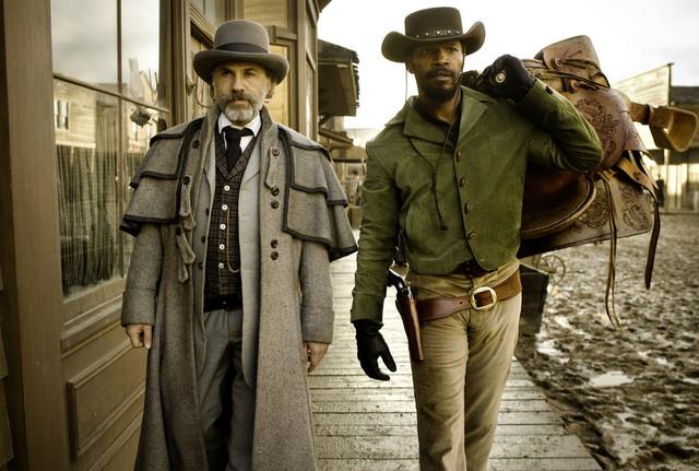 Dr. King Schultz/Django - Christoph Waltz/Jamie Foxx - Django Unchained (2012)
