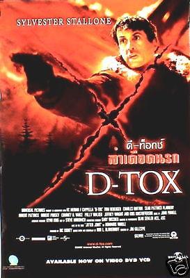 D TOX plakat