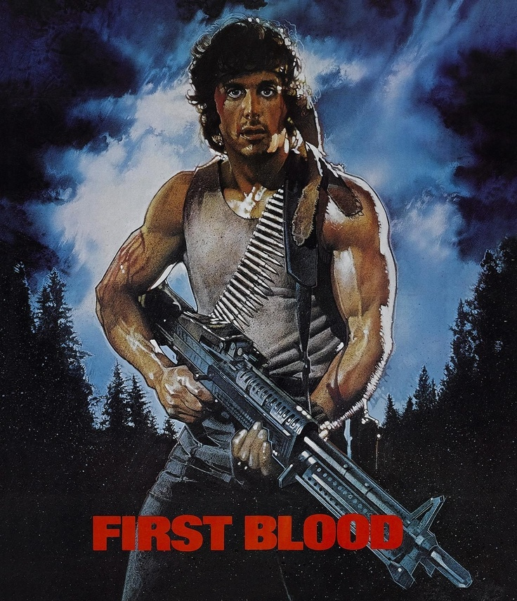 Rambo 1 plakat