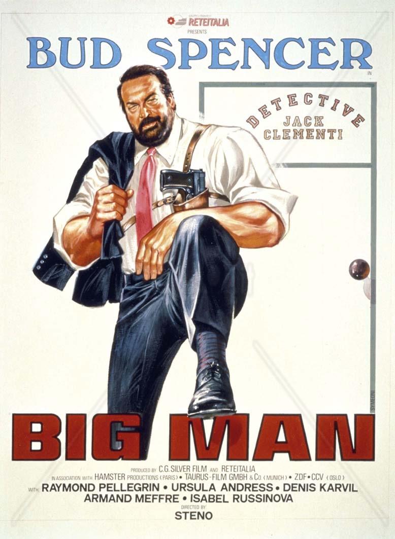 big man plakat