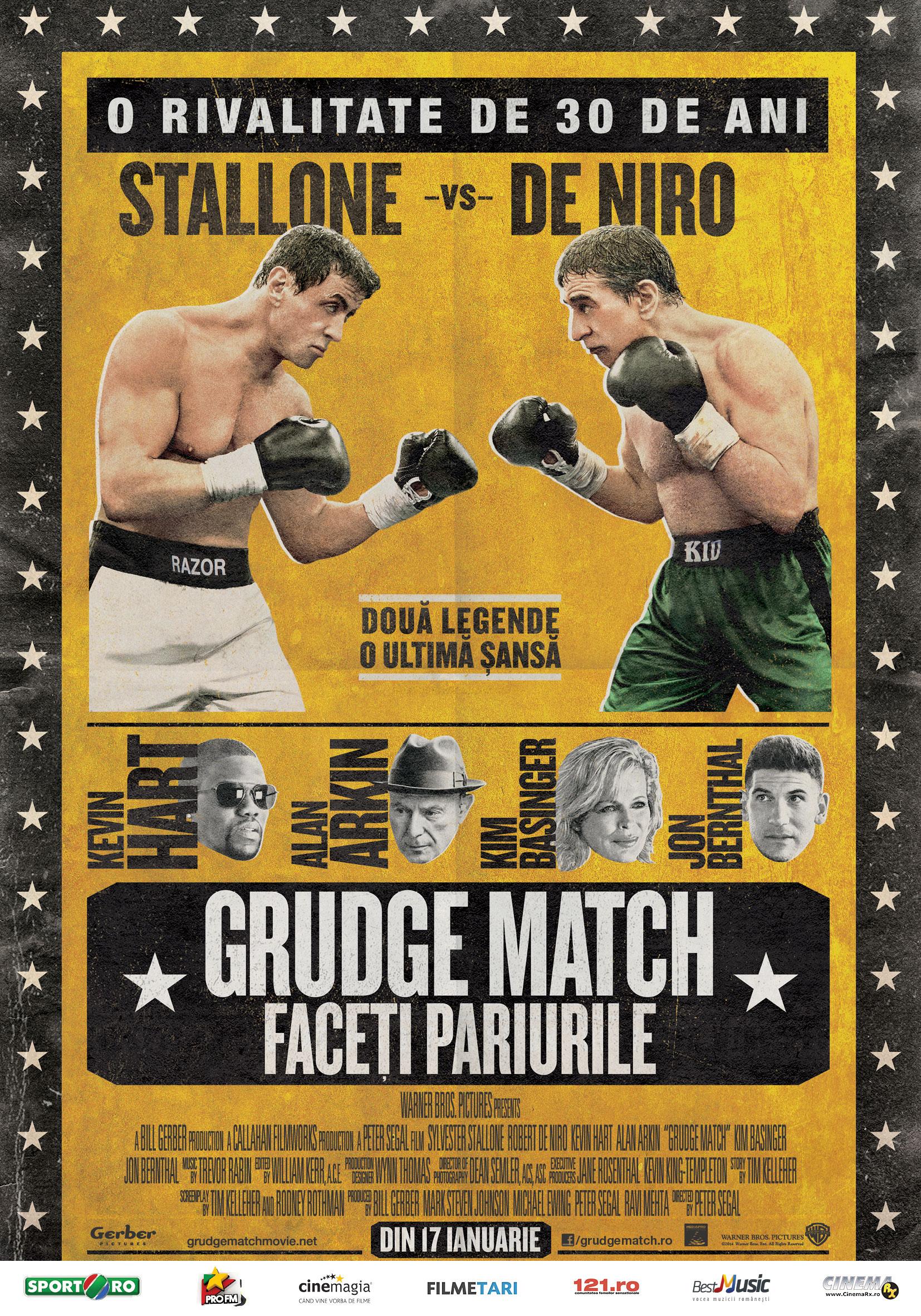 grudge match plakat