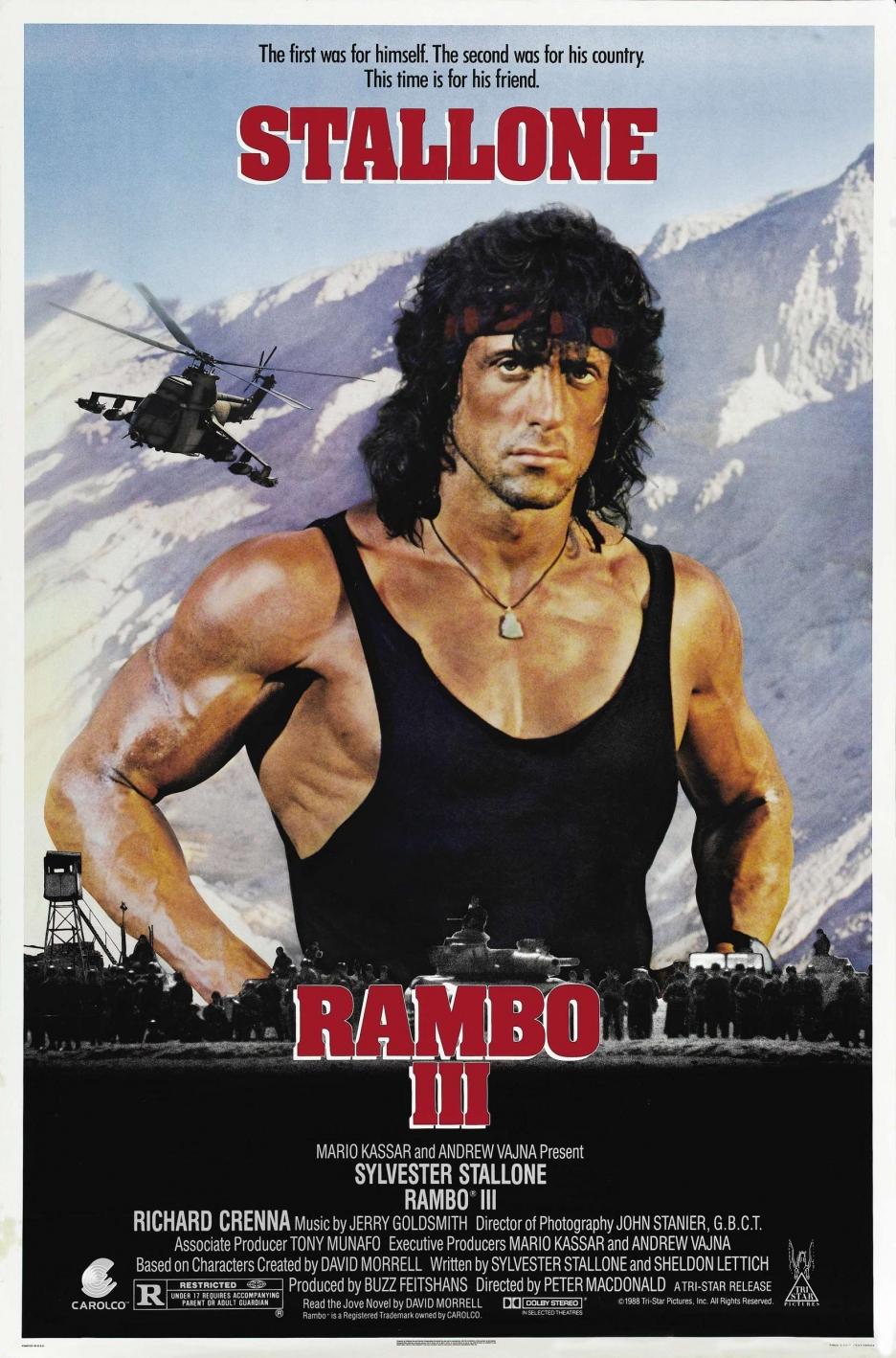 rambo 3 plakat