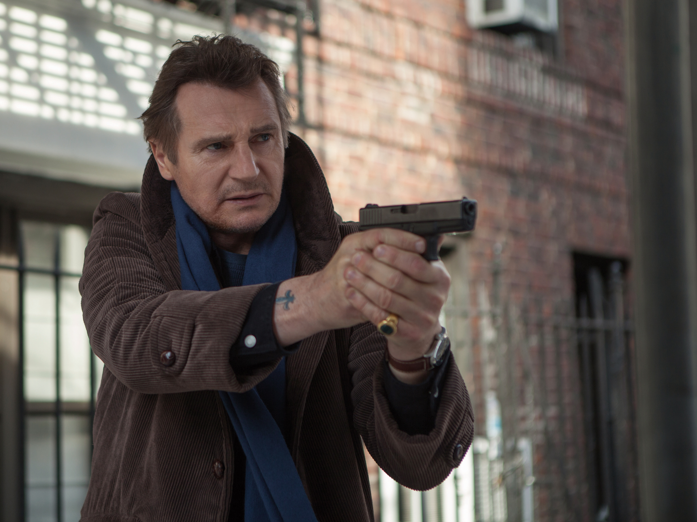 Liam Walk Among the Tombstones