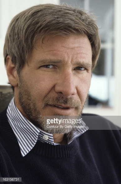 Harrison Ford Young Beard