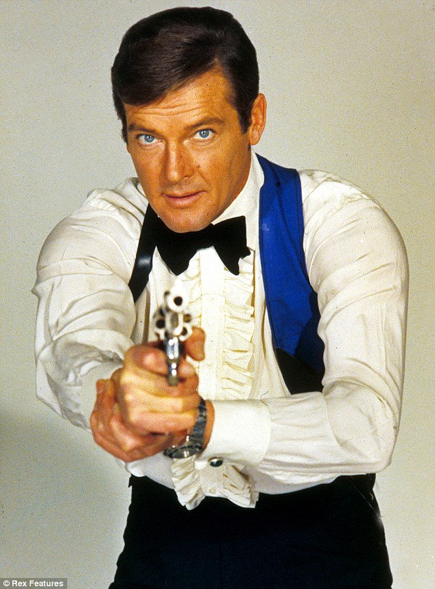 Roger Moore 1973