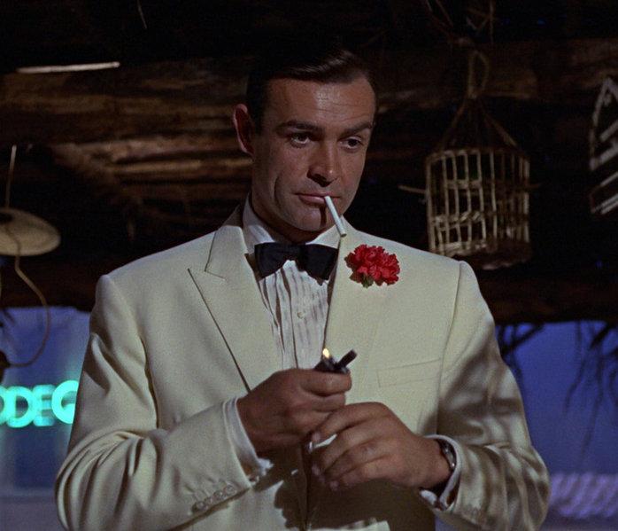 Goldfinger smoking 64