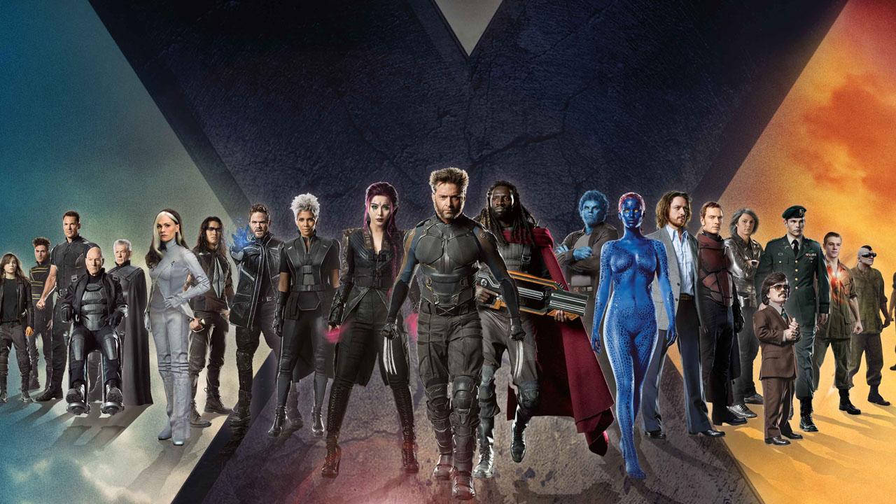 X-mens Marvel filmy