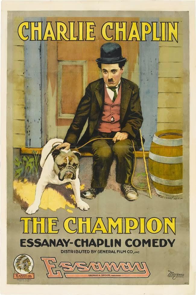 Chaplin boxerem (1915)