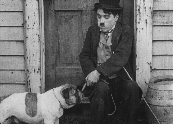 Chaplin boxerem (1915) 1